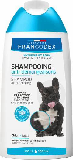Shampooing Anti Demangeaisons Pour Chiens