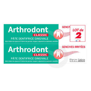 Pate Dentifrice Gingivale Gencives Sensibles 2 X 75 Ml