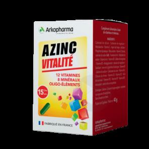 Azinc Vitalite Ad 120 30 Gelules