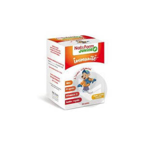 Nat Form Junior Ours Gomme Oursons Immunite B 30