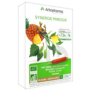 Arkofluide Bio Ultraextract S Buv Synergie Minceur 20 Amp 10 Ml
