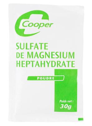 Sulfate De Magnesium 20 X 30 G