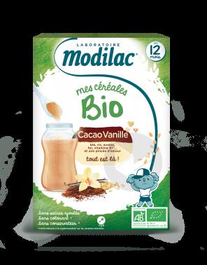 Cacao Vanille Bio 250 G