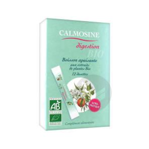 Calmosine Digestion Bio Boisson Apaisante Extraits Naturels De Plantes 12 Dosettes 5 Ml