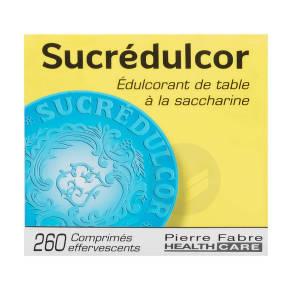 Edulcorant Effervescent A La Saccharine 260 Comprimes