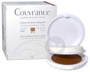 Couvrance Cr De Teint Compacte Confort Soleil Boitier 10 G