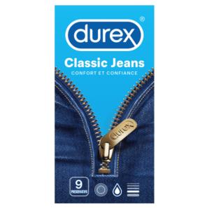 Preservatif Classic Jeans X 9