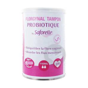 Florgynal Probiotique Tampon Periodique Avec Applicateur Normal B 9