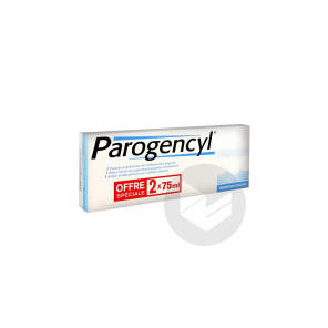 Pate Dentifrice Menthe Prevention Gencives 2 X 75 Ml