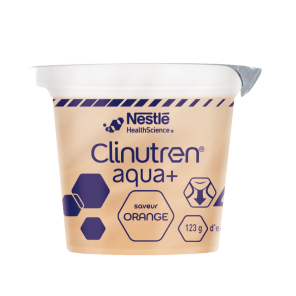 Clinutren Aqua Saveur Orange 4 X 125 G