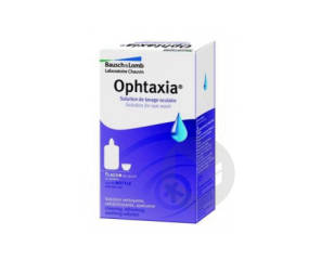 Ophtaxia Solution Lavage Oculaire 120 Ml