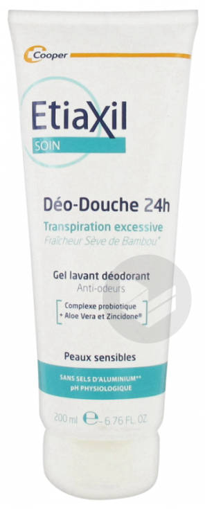 Soin Deo Douche 24 H Gel Lavant Deodorant 200 Ml
