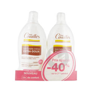 Roge Cavailles Intime Gel Extra Doux 2 Fl 500 Ml 40