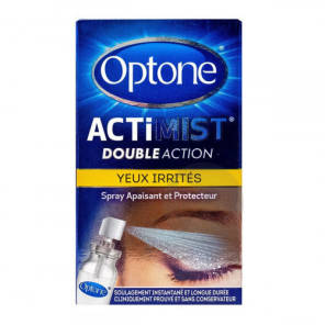 Optone Actimist Yeux Irrites Spray 10 Ml