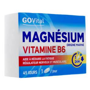 Magnesium Vitamine B 6 Govital 2 X 45 Comprimes