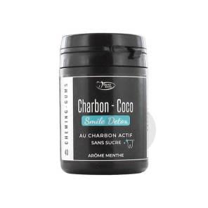Charbon Coco Sans Sucre Menthe 40 Chewing Gums