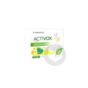Activox Sans Sucre Past Menthe Eucalyptus B 24