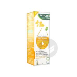 Phytosun Aroms Huile Vegetale Bio Macadamia Fl Pompe 50 Ml