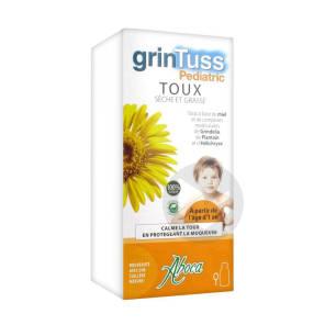 Grintuss Pediatric Sirop Toux Seche Et Grasse Fl 210 G