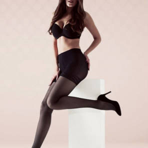 Collant Smartleg Transparent Irresistible Noir Taille 2