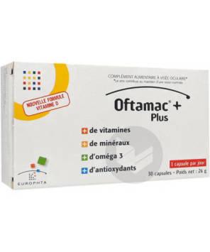 Oftamac Capsule Visee Oculaire 60 Capsules