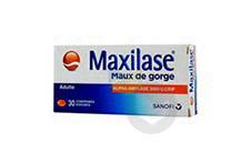Alpha Amylase 3000 Uceip Comprime Enrobe Maux De Gorge Boite De 30