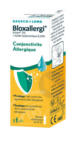 Bloxallergi Conjonctivite Allergique 20 X 0 5 Ml