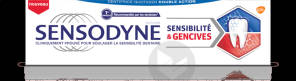 Dentifrice Sensibilite Gencives Menthe Fraiche 2 X 75 Ml