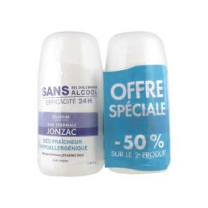 Deodorant Hypoallergenique Lot De 2 X 50 Ml