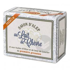 Savon D Alep Premium Au Lait De Chevre 125 Gr