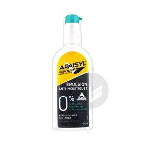 Repulsif Moustiques Emuls Peaux Sensibles Spray 90 Ml
