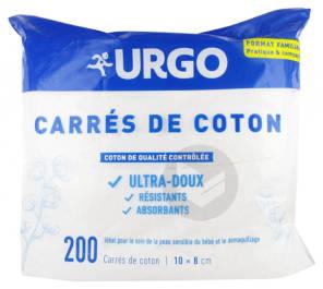 Urgo Carre De Coton Sachet 200