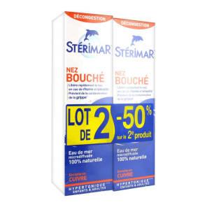 Sterimar Nez Bouche Lot De 2 X 100 Ml