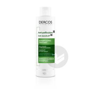 Dercos Technique Anti Pelliculaire Ds Shampooing Traitant Pellicules Demangeaisons Cheveux Normaux A Gras