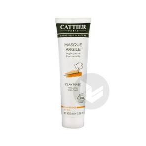 Masque Creme Argile Jaune Peau Seche T 100 Ml