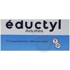 Suppositoire Effervescent Adulte Plaquette De 12