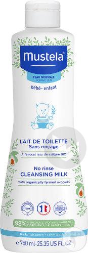 Peau Normale Lait De Toilette Bebe Et Enfant 750 Ml