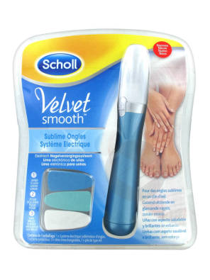 Velvet Smooth Sublime Appareil Electrique 3 En 1 Ongles