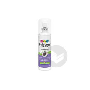Balepou Sol Antipoux Huiles Essentielles Spray 100 Ml