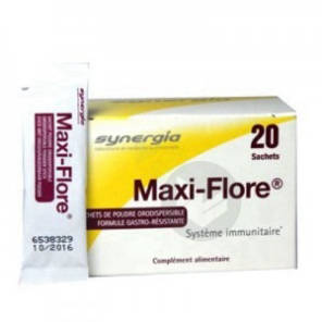 Maxi Flore Pdr Orodispersible 20 Sach