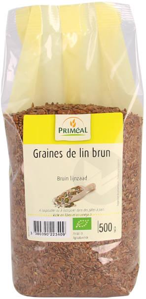 Graines De Lin Brun 500 G