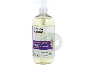 Shampoing Douche Relaxant Huile Dolive Lavande Bio 500 Ml