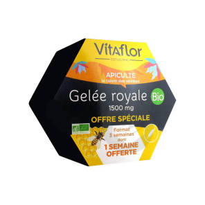 Gelee Royale 1500 Mg Bio 20 Ampoules