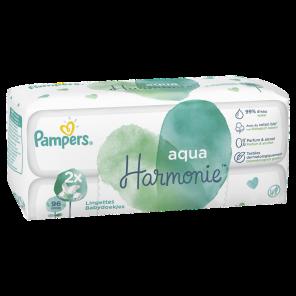 Aqua Harmonie Lingettes Pour Bebe 2 X 48