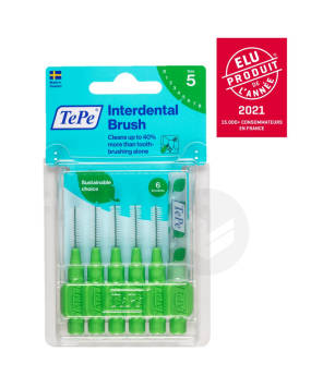 Brossettes Interdentaires Originales Eco Responsables Vert 0 8 Mm Iso 5 X 6