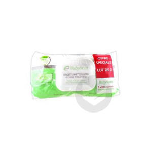 Babysoin Lingette Nettoyante 2 Paquets 70