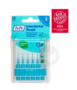 Brossettes Interdentaires Originales Eco Responsables Bleu 0 6 Mm Iso 3 X 6