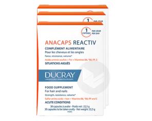 Anacaps Reactiv 3 X 30 Capsules