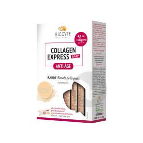Collagen Express Bar Anti Age Barre Beaute De La Peau Chocolat Blanc 6 Barres