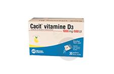 Vitamine D 3 1000 Mg 880 Ui Granules Effervescents En Sachet 30 Sachets De 8 G